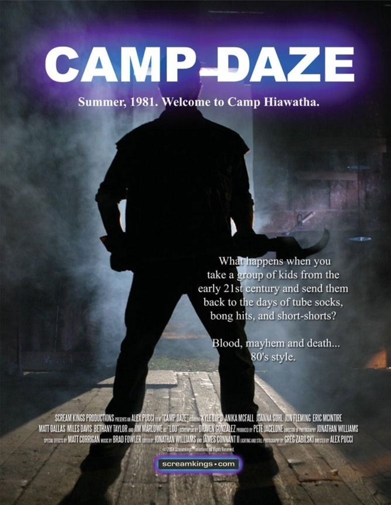 Camp Slaughter movie poster