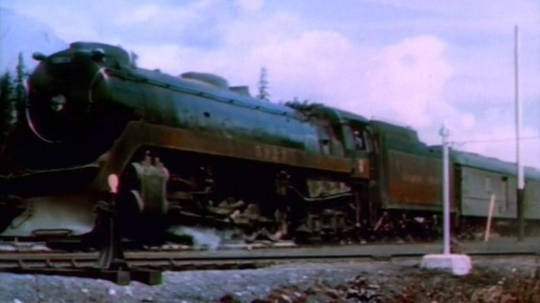 Canadian Pacific (film) movie scenes