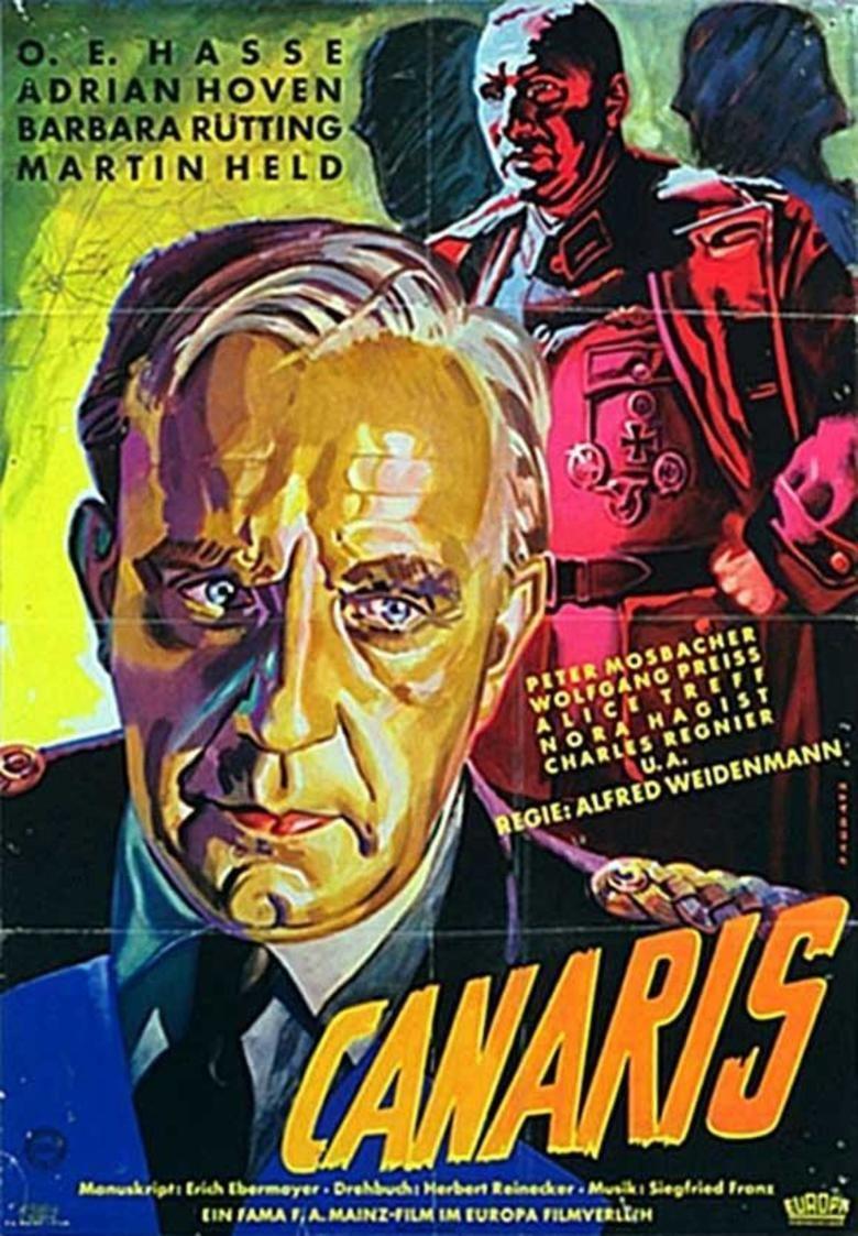 Canaris (film) movie poster
