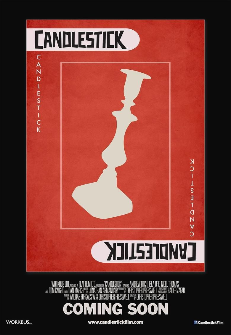 Candlestick (film) movie poster