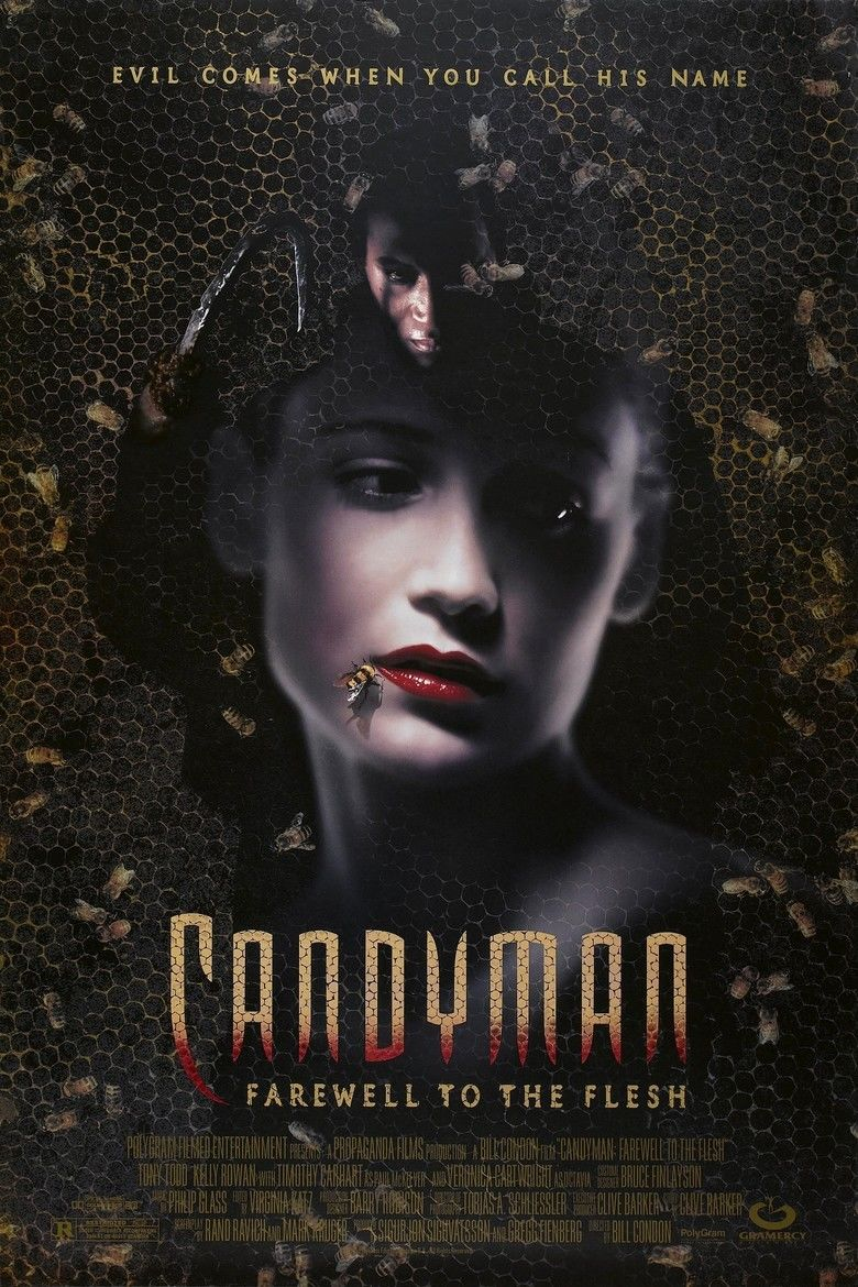 Candyman: Farewell to the Flesh movie poster