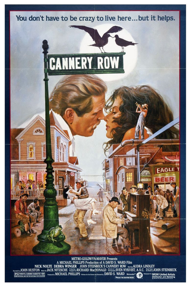 Cannery Row (film) movie poster