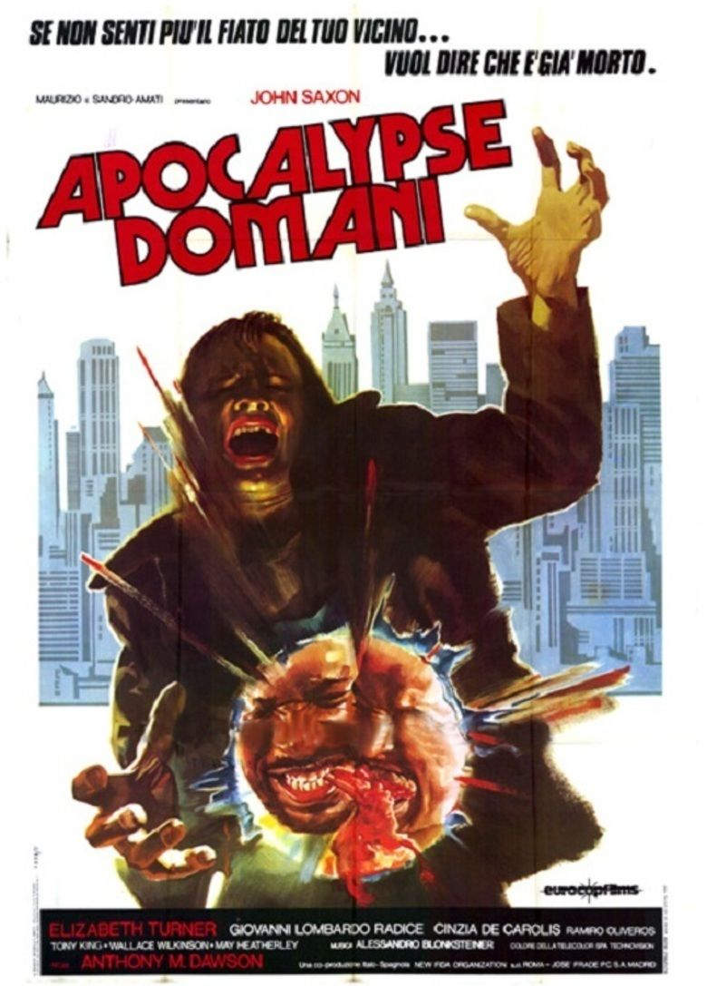 Cannibal Apocalypse movie poster