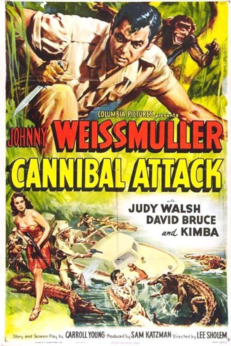 Cannibal Attack movie poster