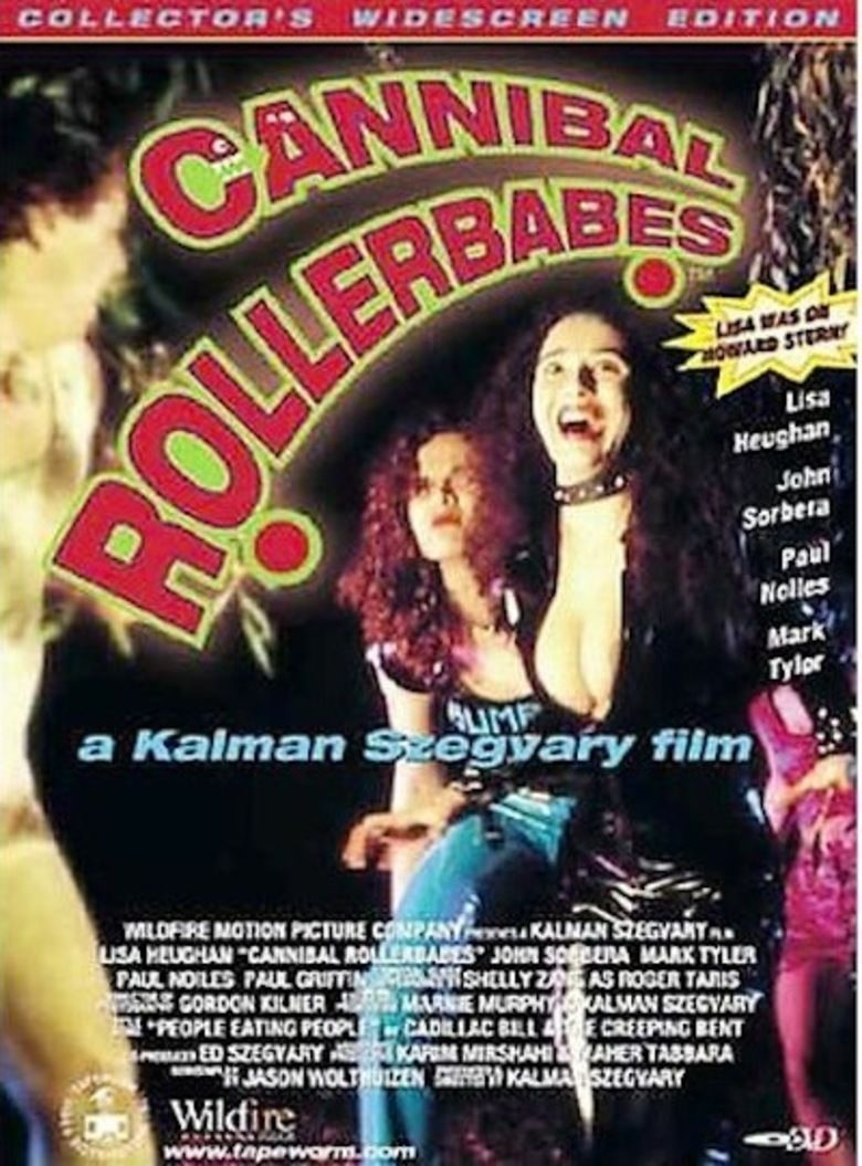 Cannibal Rollerbabes movie poster