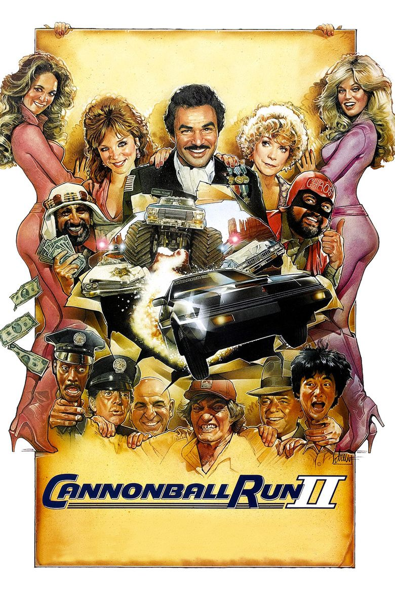 Cannonball Run II movie poster