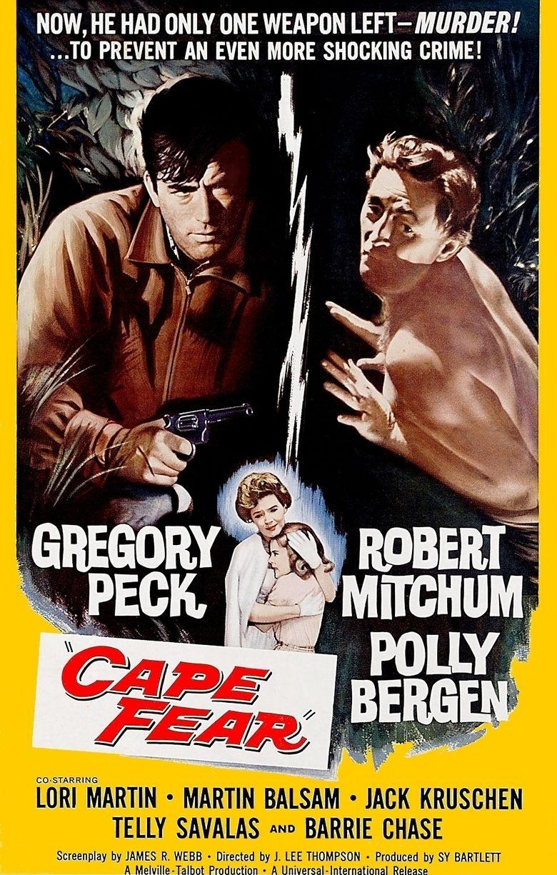 Cape Fear (1962 film) movie poster