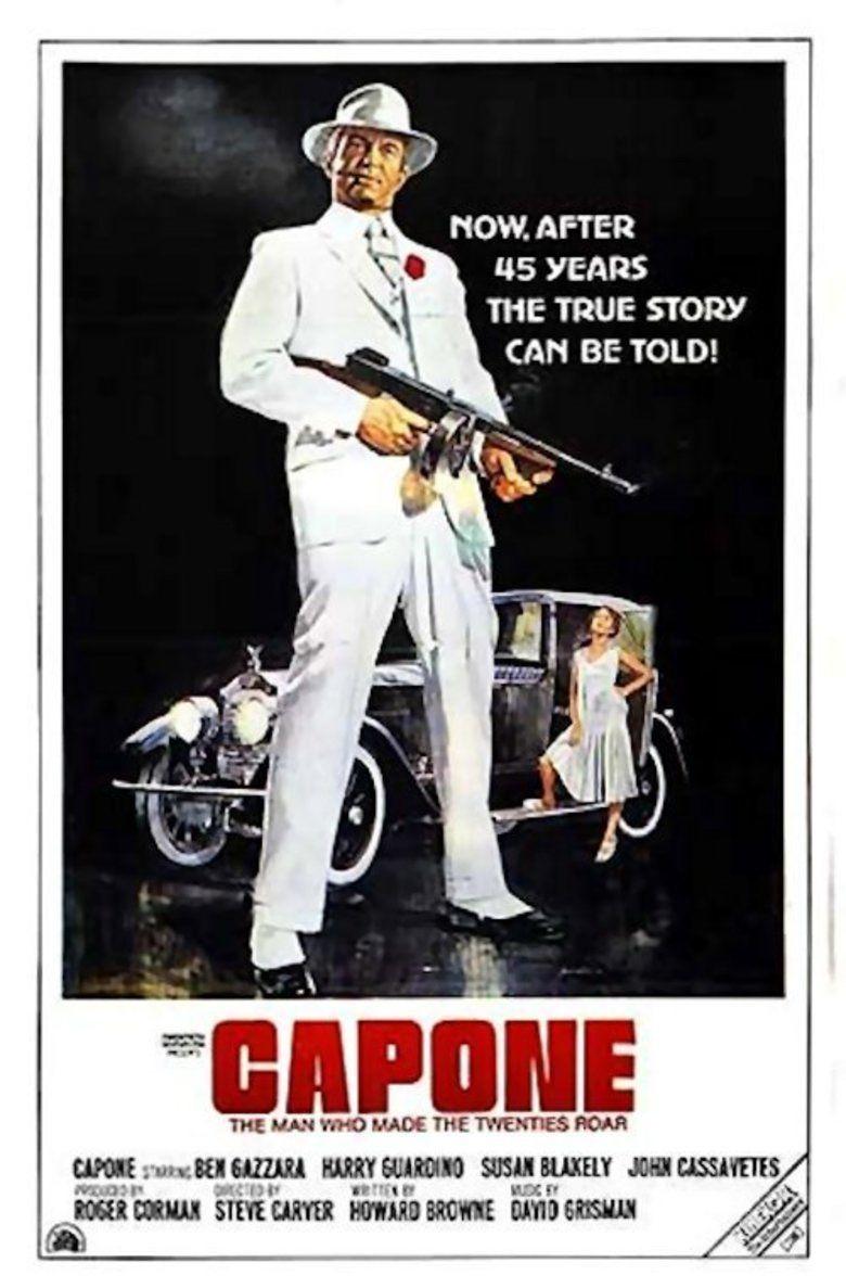 Capone (film) movie poster