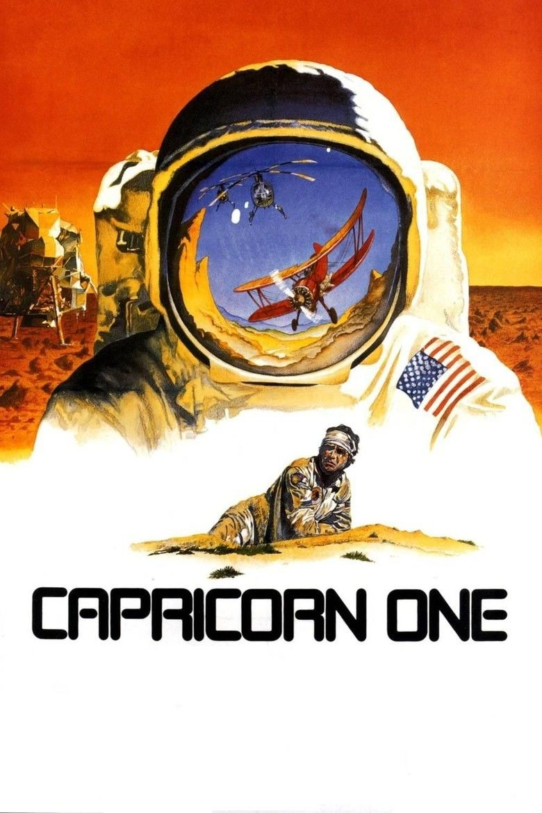Capricorn One movie poster