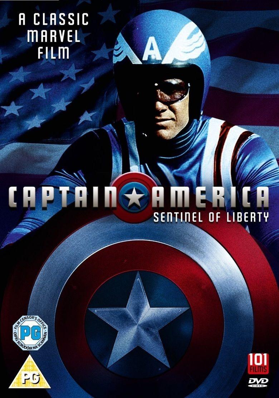Captain America (1979 film) movie poster