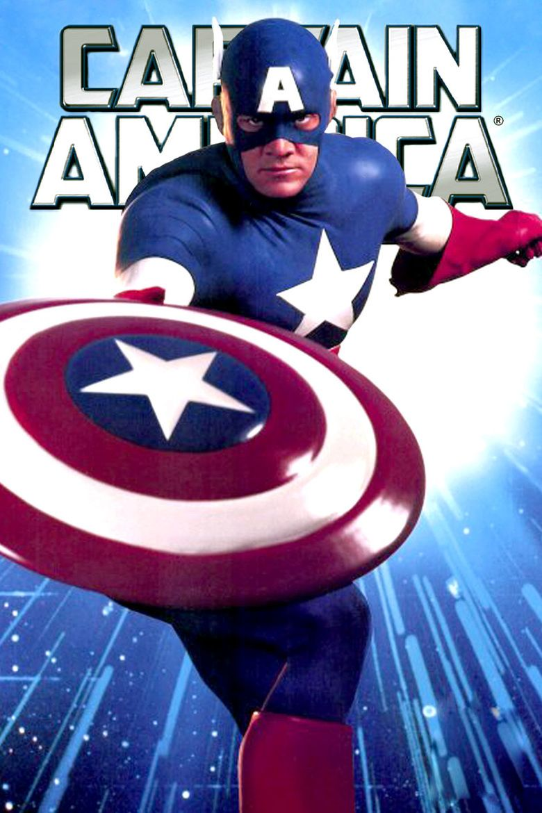 Captain America (1990 film) movie poster