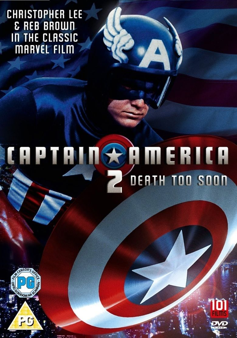 Captain America II: Death Too Soon movie poster