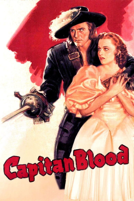 Captain Blood (1935 film) movie poster
