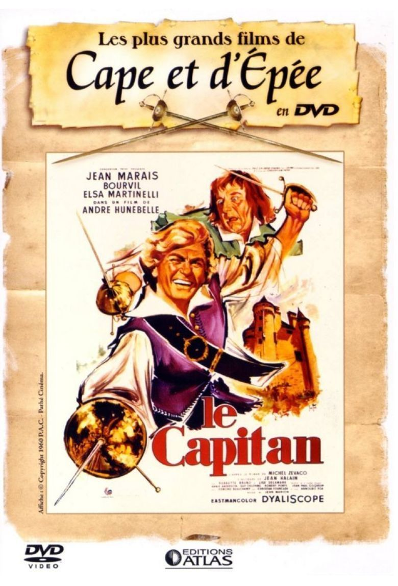 Captain Blood (1960 film) movie poster