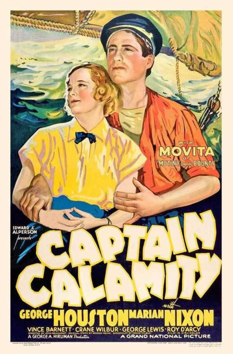 Captain Calamity (film) movie poster