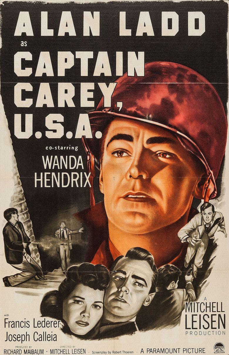 Captain Carey, USA movie poster