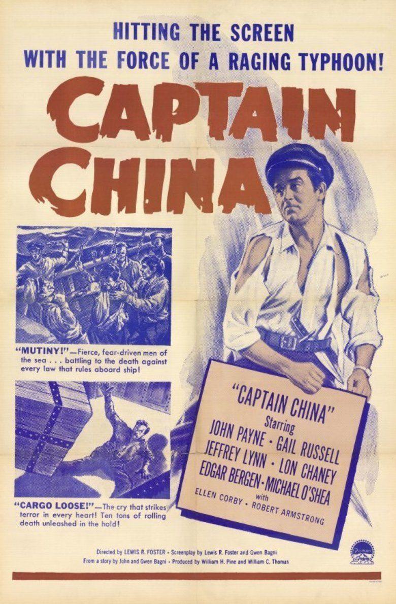 Captain China movie poster