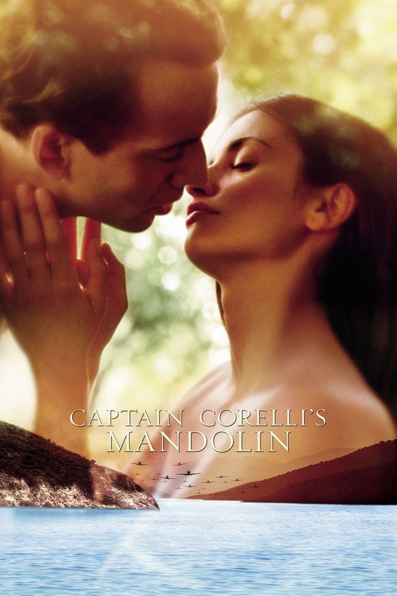 Captain Corellis Mandolin (film) movie poster