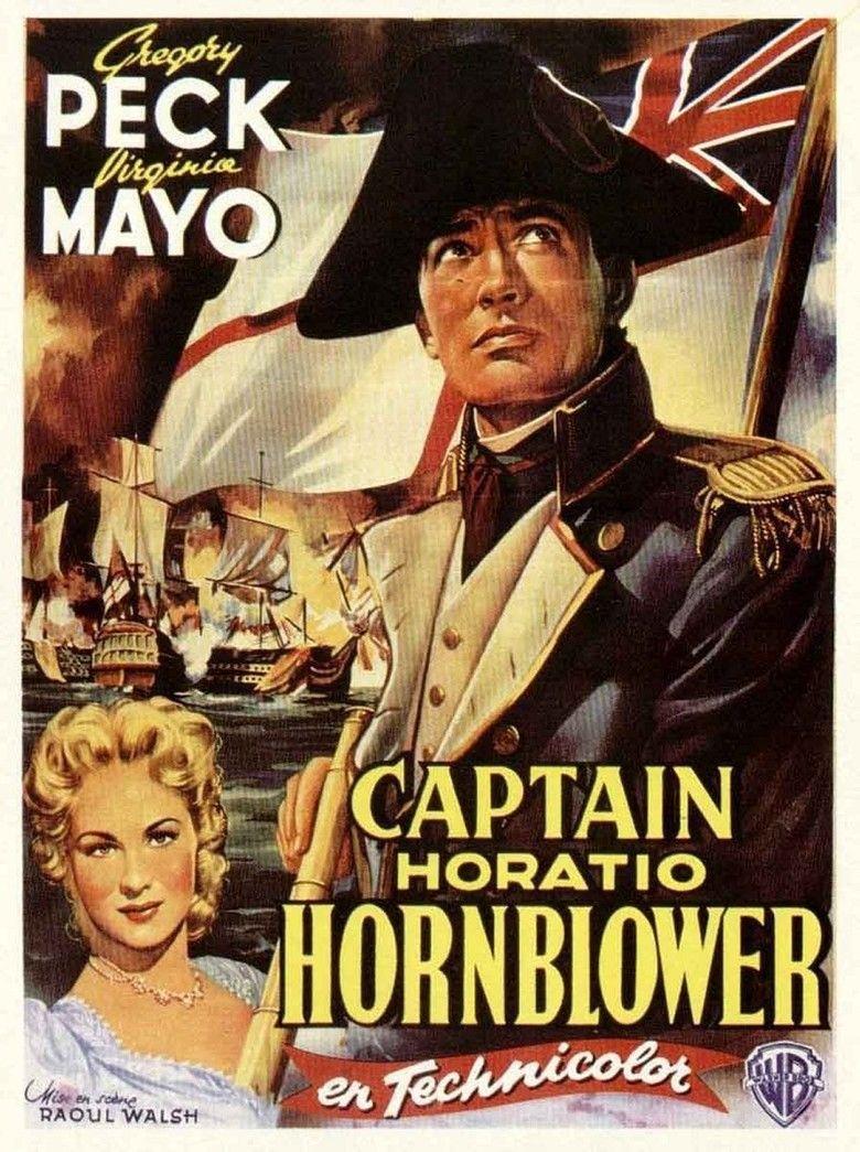 Captain Horatio Hornblower RN movie poster