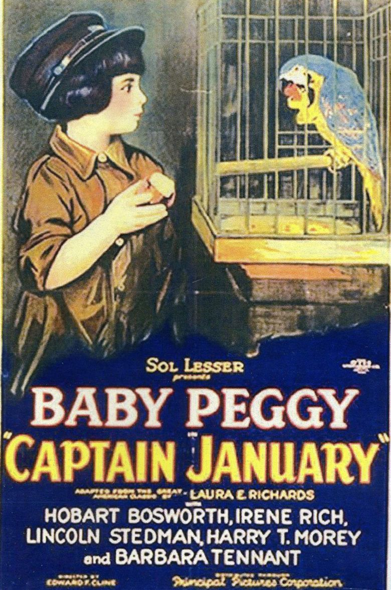 Captain January (1924 film) movie poster