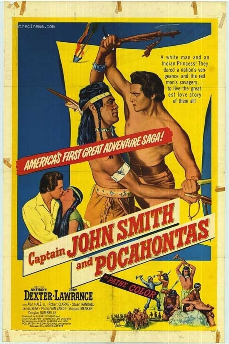 Captain John Smith and Pocahontas movie poster