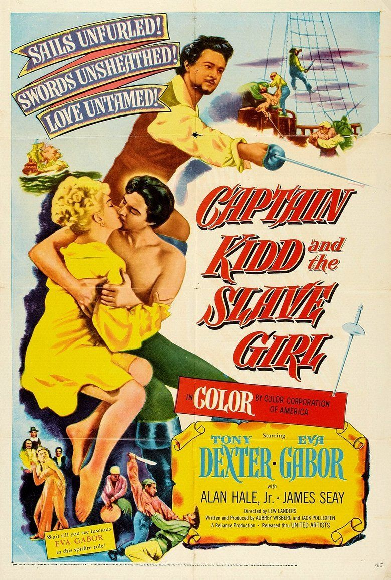 Captain Kidd and the Slave Girl movie poster