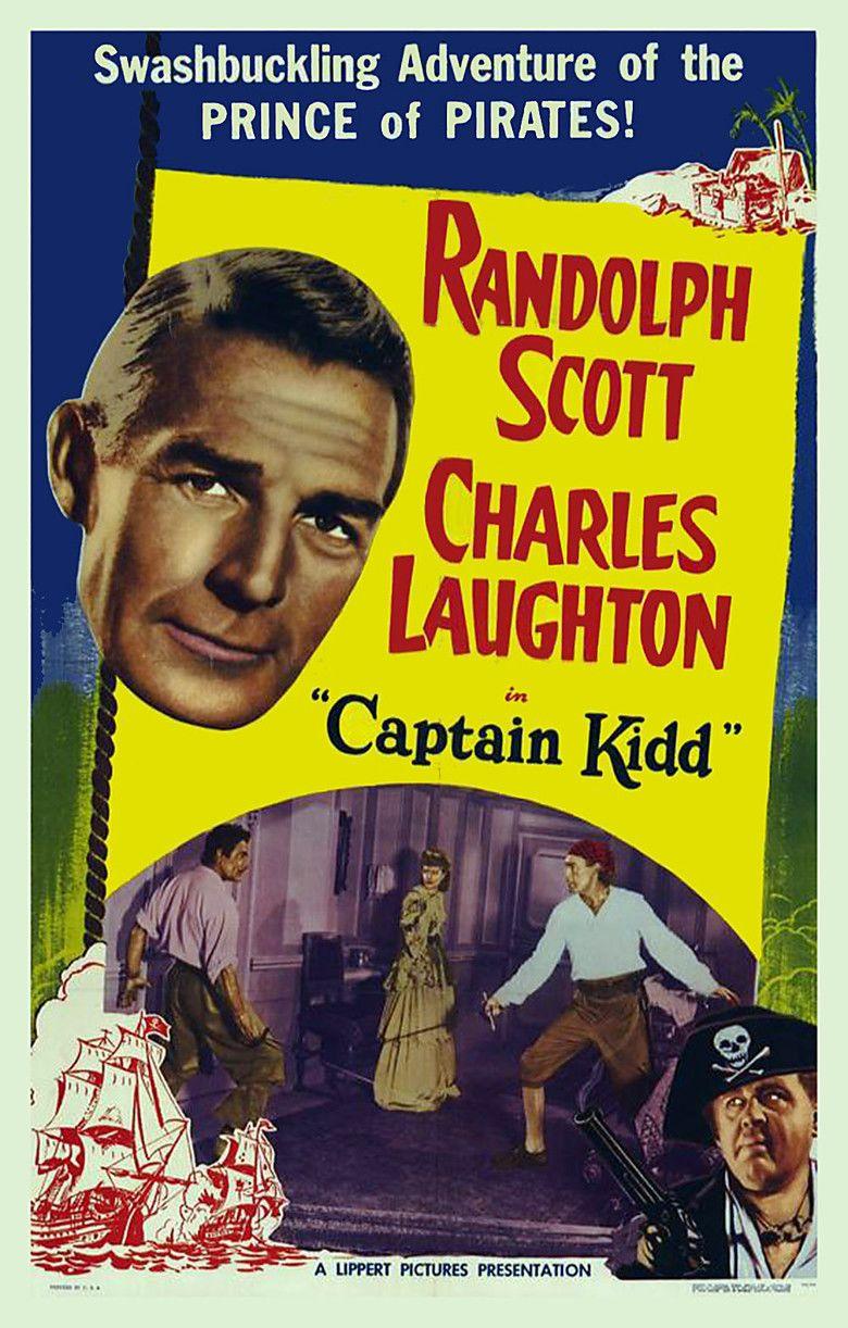 Captain Kidd (film) movie poster