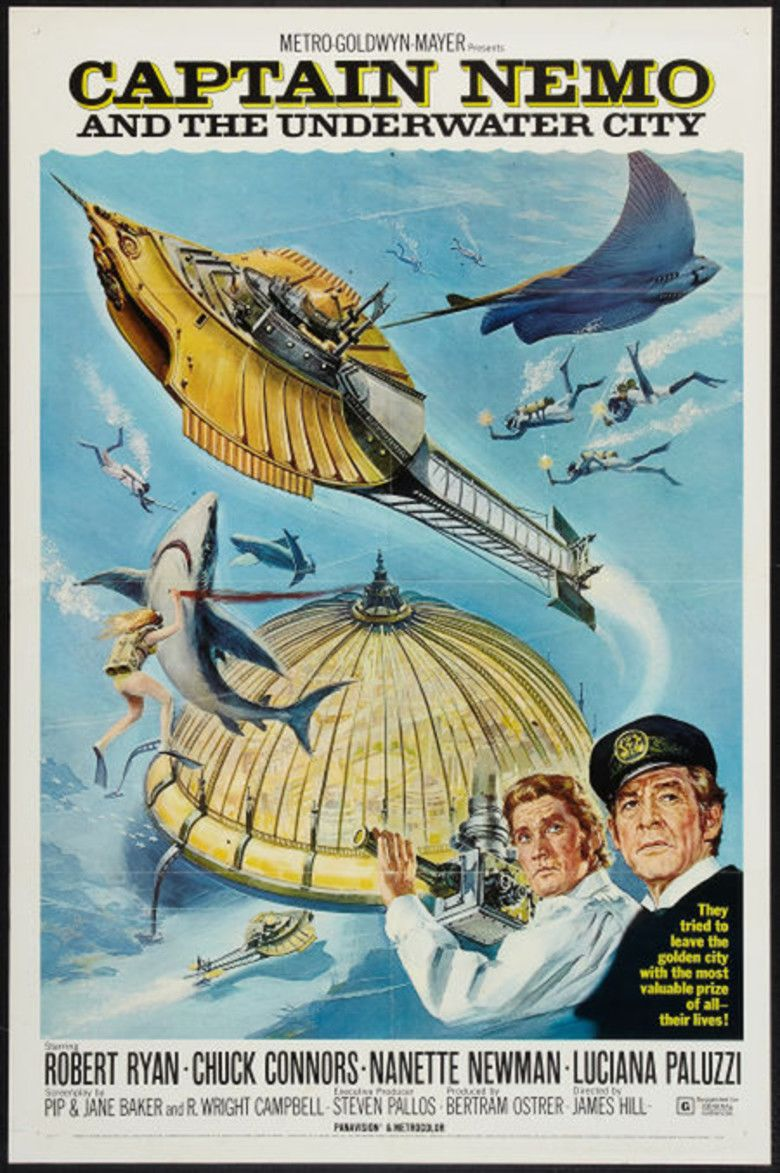 Captain Nemo and the Underwater City movie poster