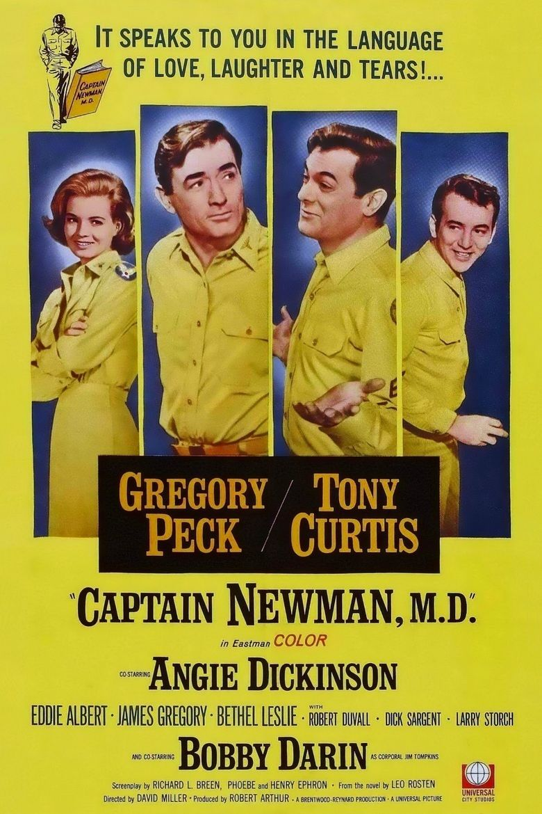 Captain Newman, MD movie poster