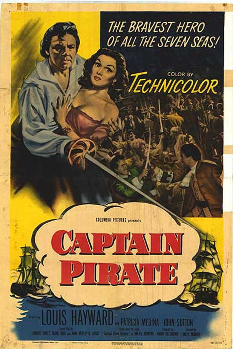 Captain Pirate movie poster