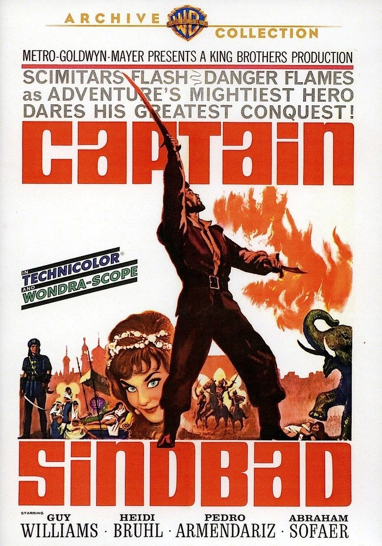 Captain Sindbad movie poster