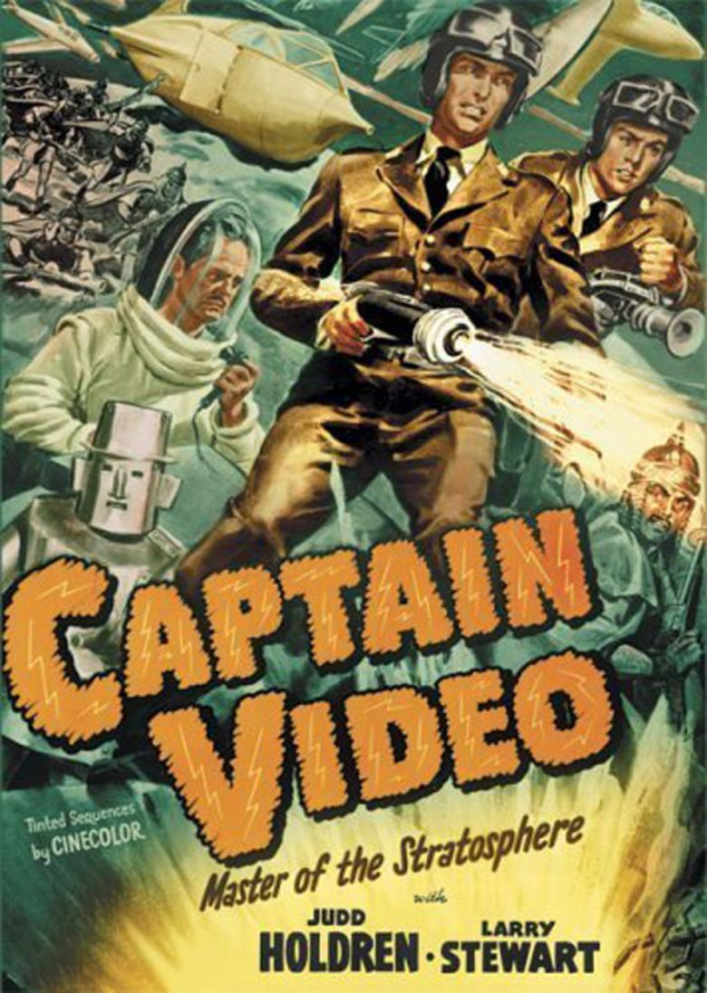 Captain Video: Master of the Stratosphere movie poster