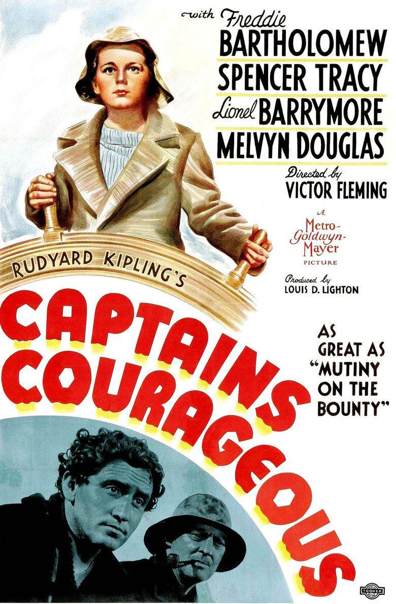 Captains Courageous (1937 film) movie poster