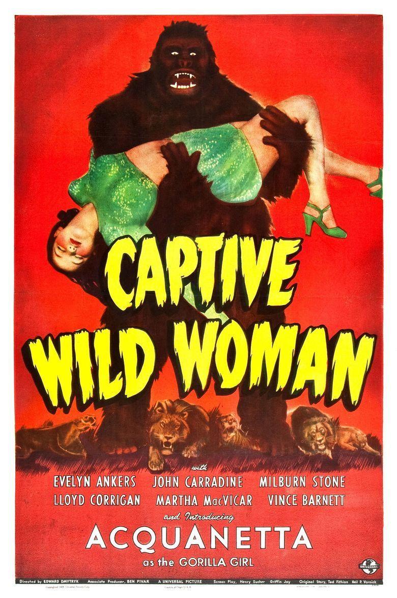 Captive Wild Woman movie poster