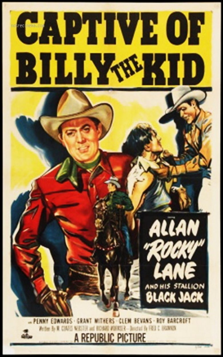 Captive of Billy the Kid movie poster