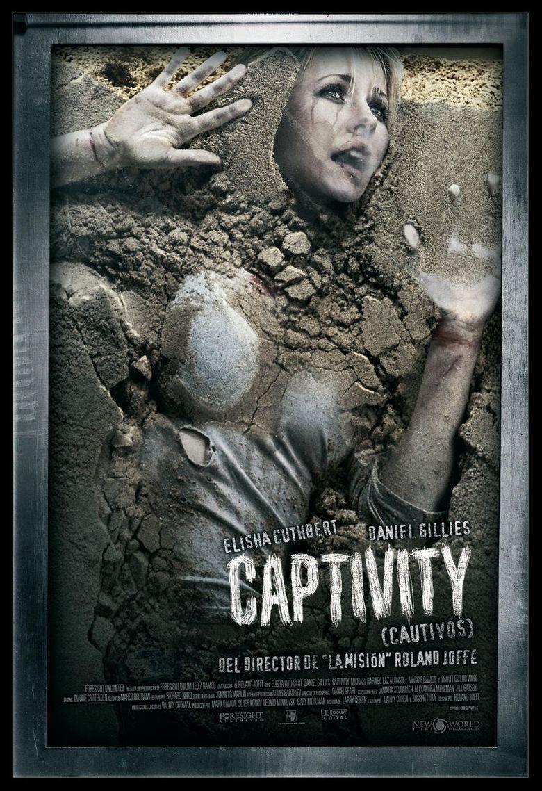 Captivity (film) movie poster