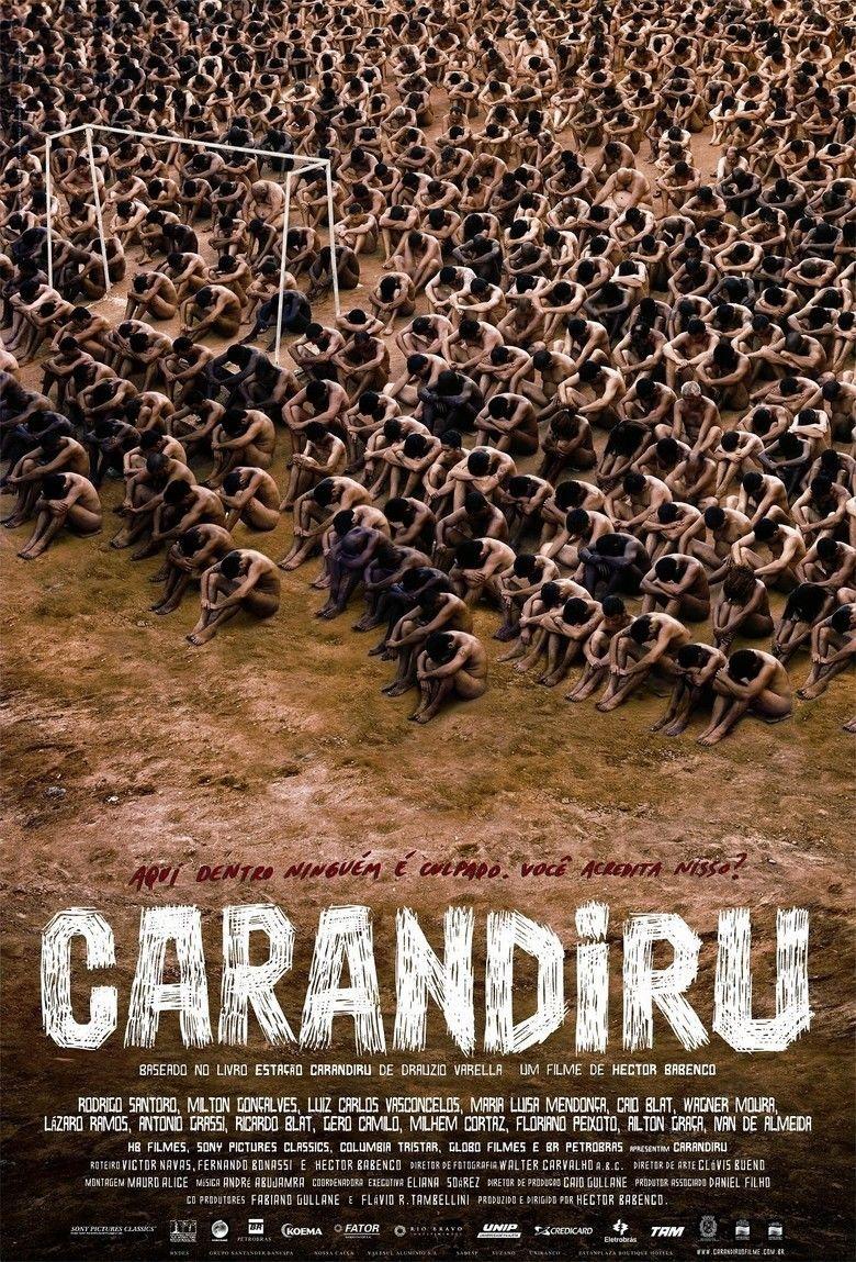 Carandiru (film) movie poster