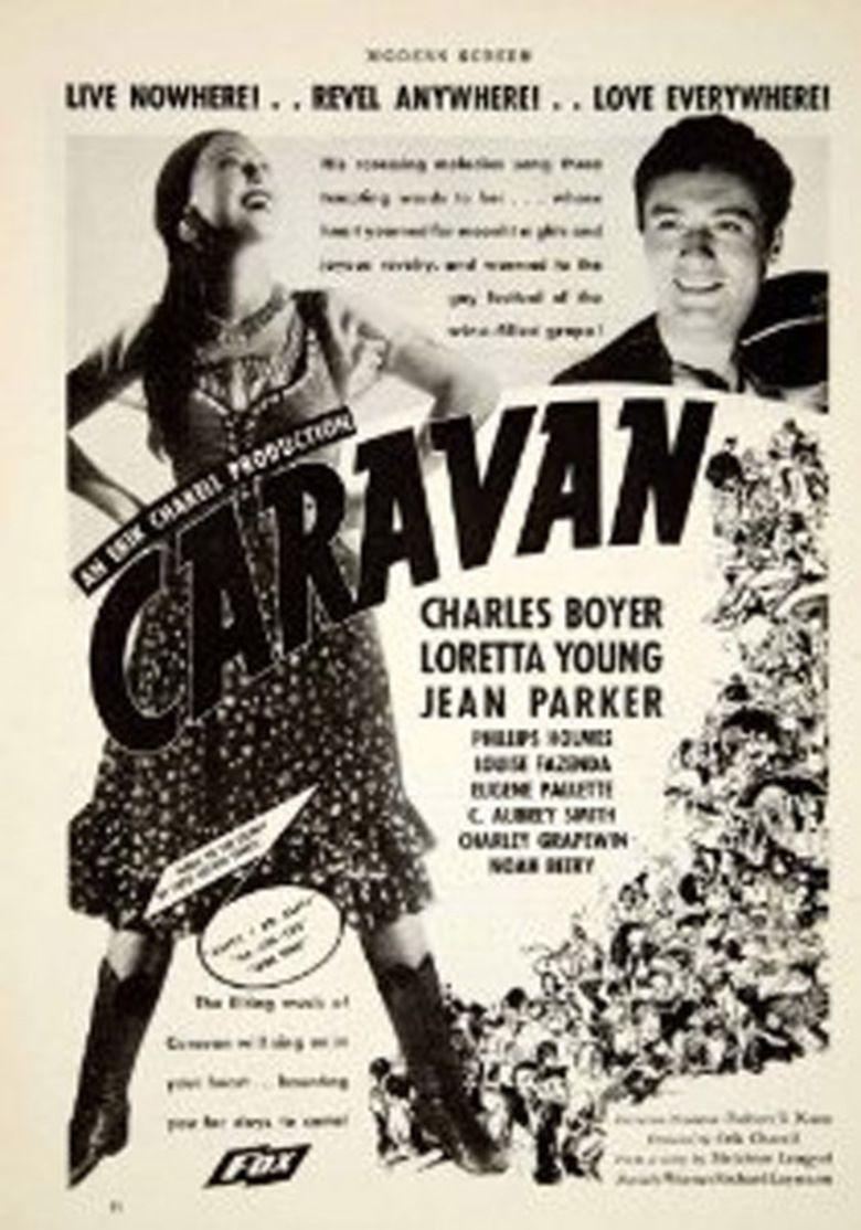 Caravan (1934 film) movie poster