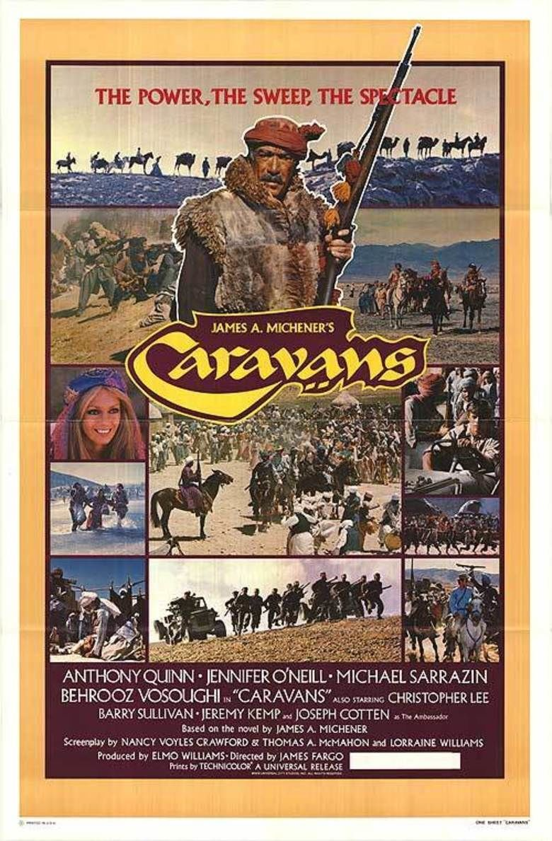 Caravans (1978 film) movie poster