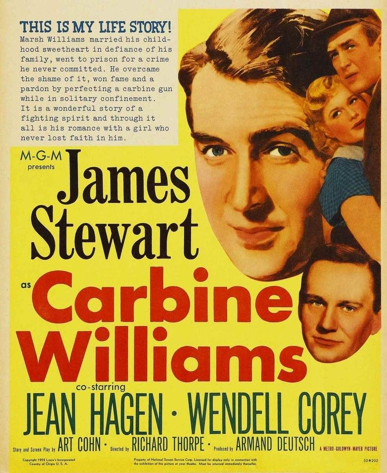 Carbine Williams movie poster