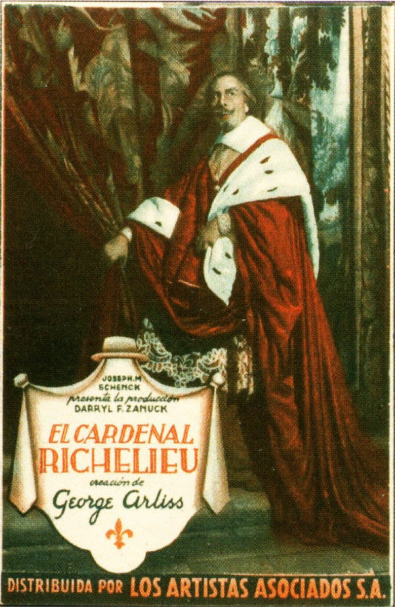 Cardinal Richelieu (film) movie poster