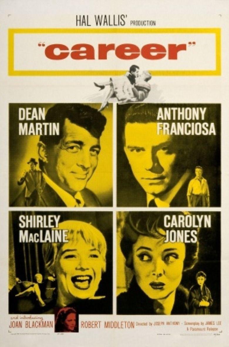 Career (1959 film) movie poster