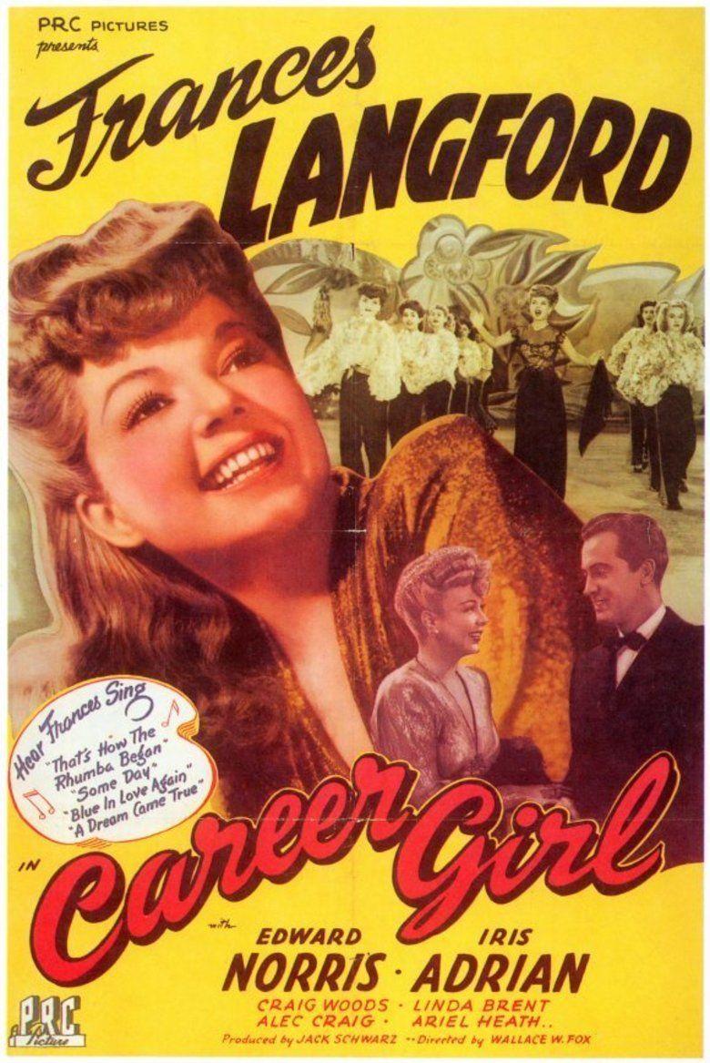 Career Girl (1944 film) movie poster