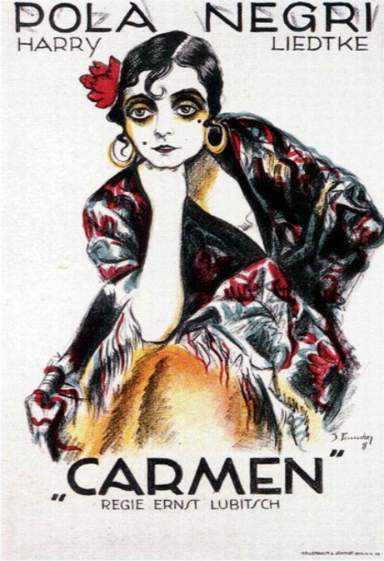 Carmen (1918 film) movie poster