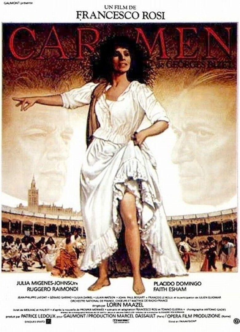 Carmen (1984 film) movie poster