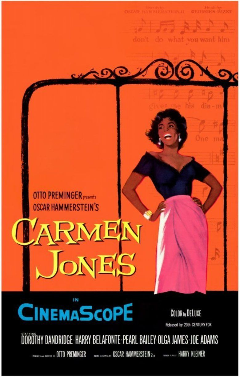 Carmen Jones (film) movie poster