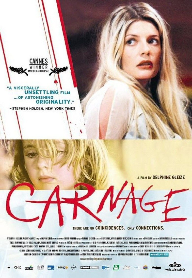 Carnage (2002 film) movie poster
