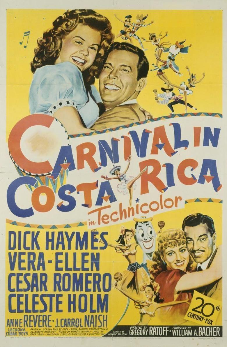 Carnival in Costa Rica movie poster