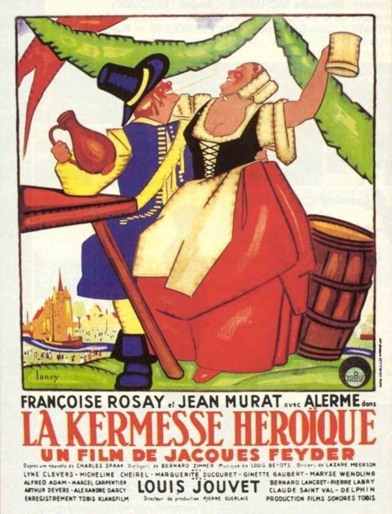 Carnival in Flanders (film) movie poster