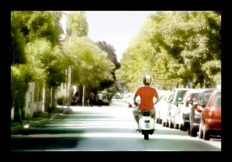 Caro diario movie scenes